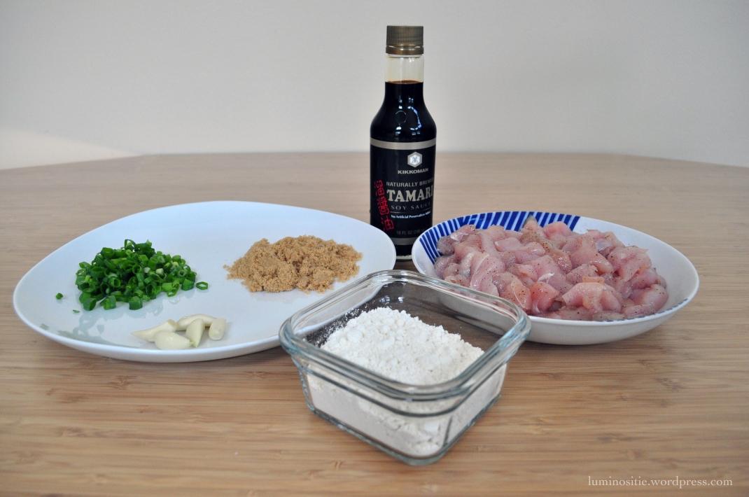 Garlic Chicken Ingredients